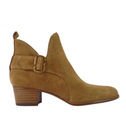 Marc Jacobs promotions bottines jac boots jjJAC BOOTS JJ - NUBUCK - CAMEL