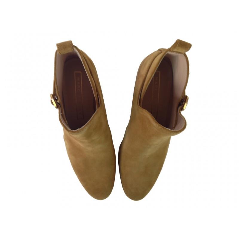 marc jacobs bottines jac boots jjJAC BOOTS JJ - NUBUCK - CAMEL