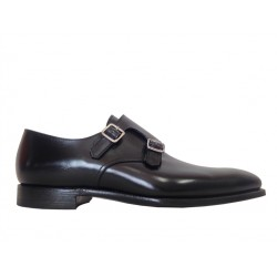 crockett & jones chaussures à boucles c&j seymour 3C&J SEYMOUR 3 - CUIR - BLACK (ST