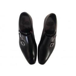 crockett & jones nouveautés chaussures à boucles c&j seymour 3C&J SEYMOUR 3 - CUIR - BLACK (ST