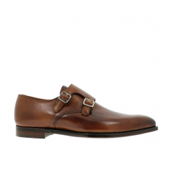 crockett & jones chaussures à boucles c&j seymour 3C&J SEYMOUR 3 - CUIR ANTIQUE - T