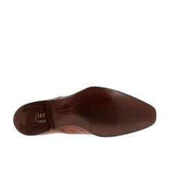 crockett & jones chaussures à boucles c&j seymour 3C&J SEYMOUR 3 - CUIR ANTIQUE - T