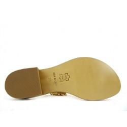 emanuela caruso sandales caru p65b t2CARU P65B T2 - CUIR ET BIJOUX -