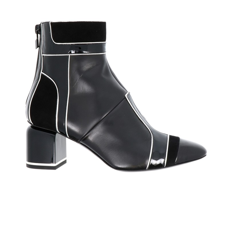 pierre hardy bottines phf boots machina t7PHF BOOTS MACHINA T7 - CUIR ET V
