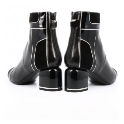 pierre hardy promotions bottines phf boots machina t7PHF BOOTS MACHINA T7 - CUIR ET V