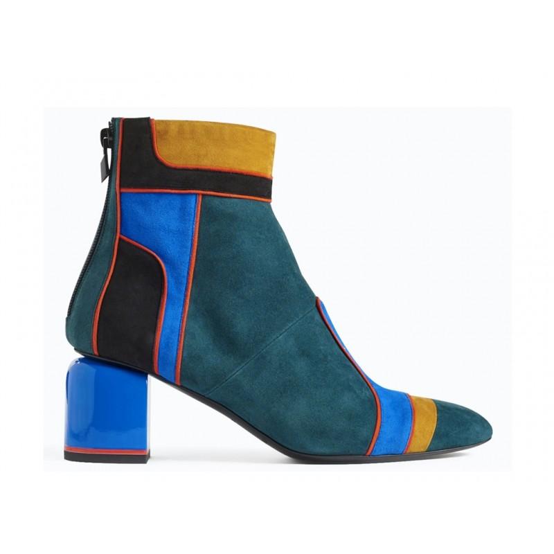 pierre hardy bottines phf boots machina t7PHF BOOTS MACHINA T7 - NUBUCK -