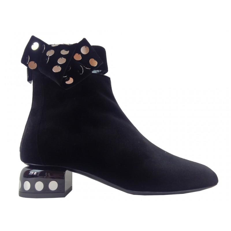 pierre hardy promotions bottines phf boot lunar noeudPHF BOOT LUNAR NOEUD - VELOURS -
