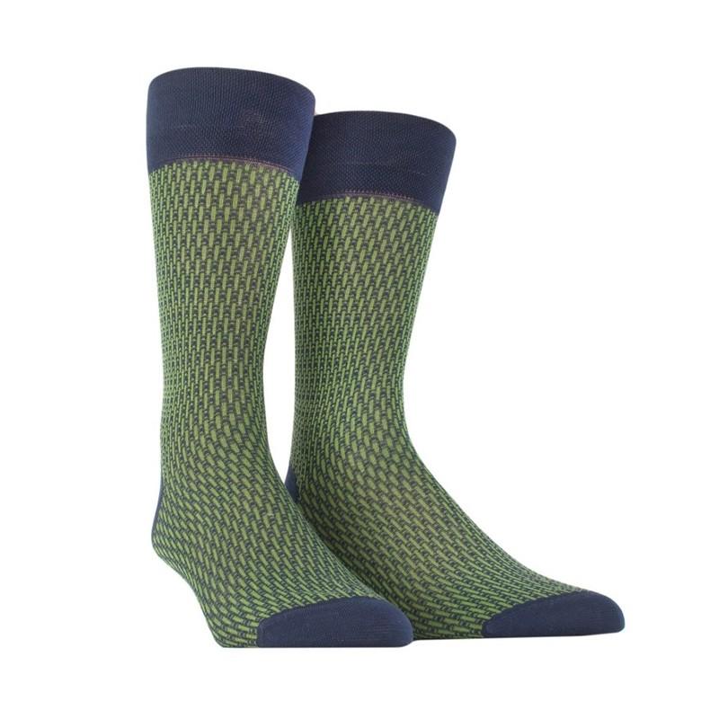 doré doré chaussettes Chaussettes à motifs ChevronDD MOTIF CHEVRON - COTON À MOTIF