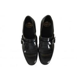 church's promotions chaussures à boucles shanghai fSHANGHAI F - CUIR - GRIS ET MARR