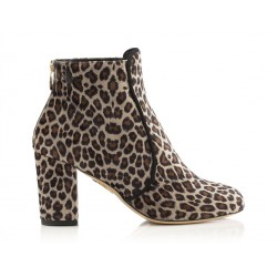 Charlotte Olympia promotions bottines co boots leo t75CO BOOTS LEO T75 - VELOURS IMPRI