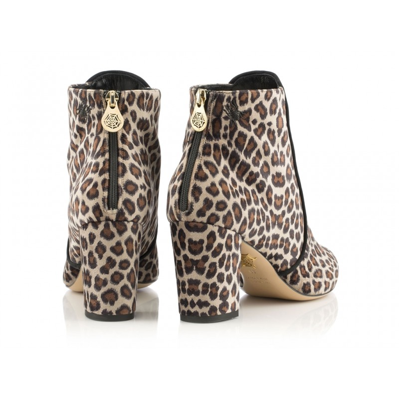 charlotte olympia bottines co boots leo t75CO BOOTS LEO T75 - VELOURS IMPRI