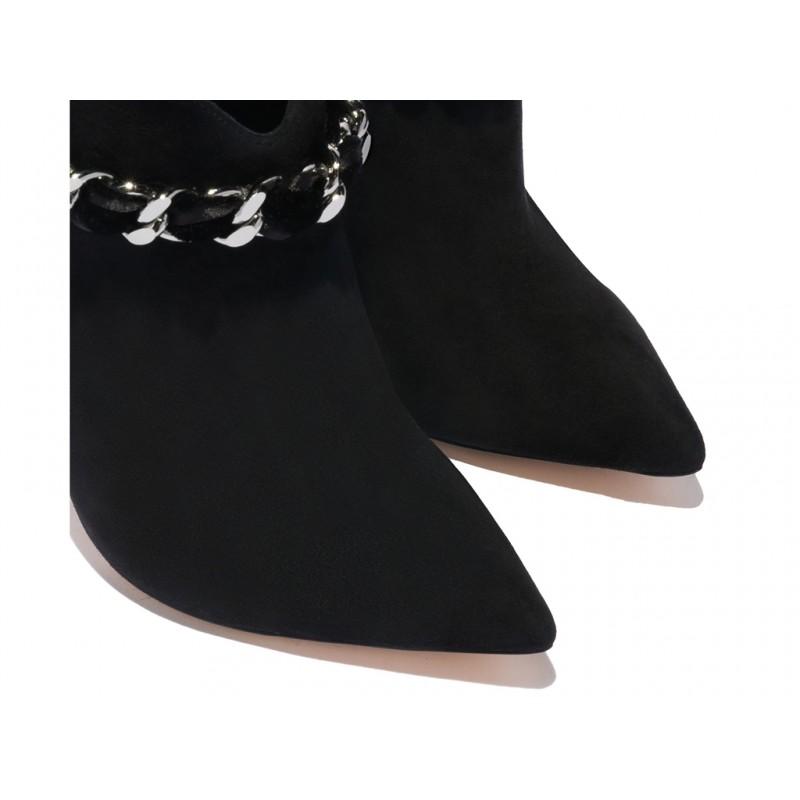 casadei bottines casa boots noeud t10CASA BOOTS NOEUD T10 - NUBUCK ET