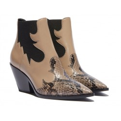 casadei bottines casa texaCASA TEXA - CUIR ET SERPENT - BE