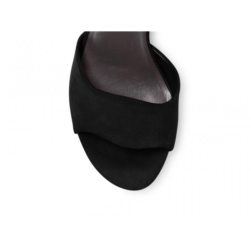 stuart weitzman sandales sw realdealSW REALDEAL - NUBUCK - NOIR