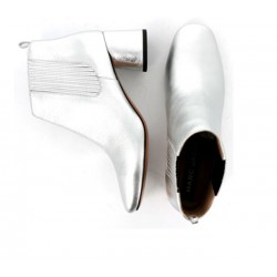 Marc Jacobs promotions bottines jac boots t5,5JAC BOOTS  T5,5 - CUIR - ARGENT