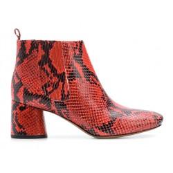 marc jacobs bottines jac boots t5,5JAC BOOTS  T5,5 - CUIR IMPRIMÉ P