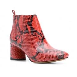 marc jacobs promotions bottines jac boots t5,5JAC BOOTS  T5,5 - CUIR IMPRIMÉ P