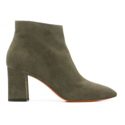 santoni promotions bottines hollyHOLLY - NUBUCK - KAKI