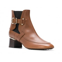 tod's bottines todmacTODMAC - CUIR - GOLD