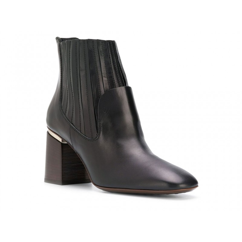 tod's promotions bottines italy t75ITALY T75 - CUIR - NOIR