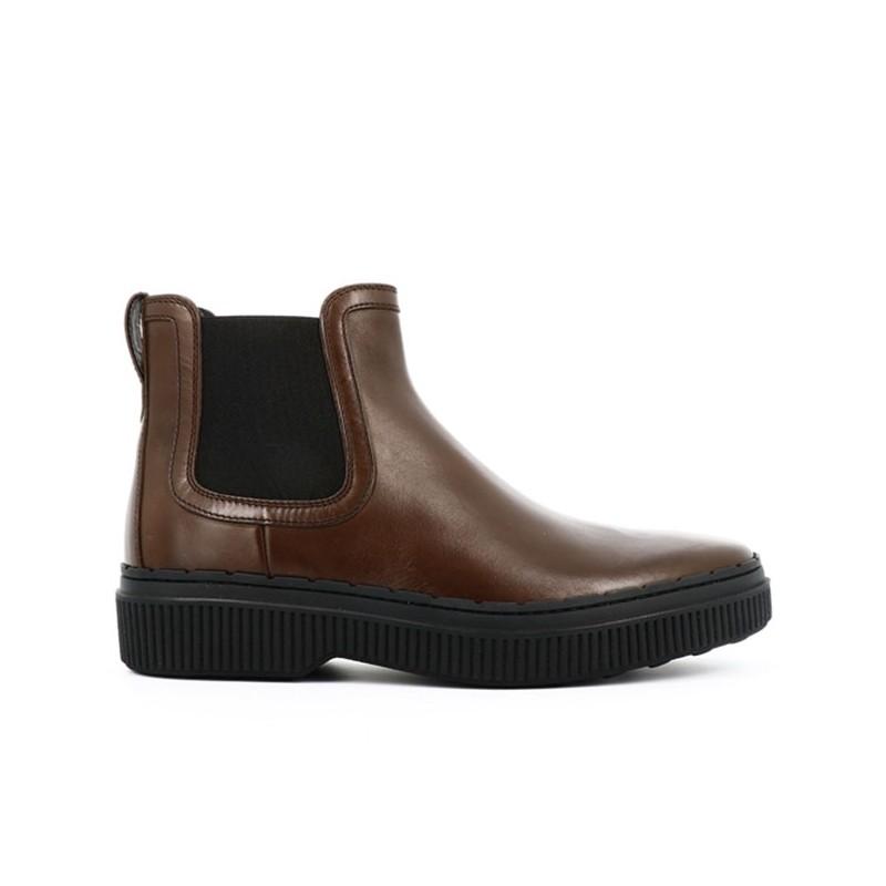tod's boots et bottillons pietro bootsPIETRO BOOTS - CUIR - MARRON