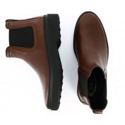 tod's promotions boots et bottillons pietro bootsPIETRO BOOTS - CUIR - MARRON