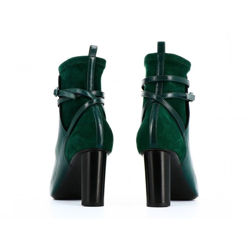 pierre hardy bottines phf boots gena t8PHF BOOTS GENA T8 - CUIR ET NUBU