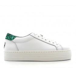 chiara ferragni promotions sneakers cf sneakCF SNEAK - CUIR ET GLITTER - BLA