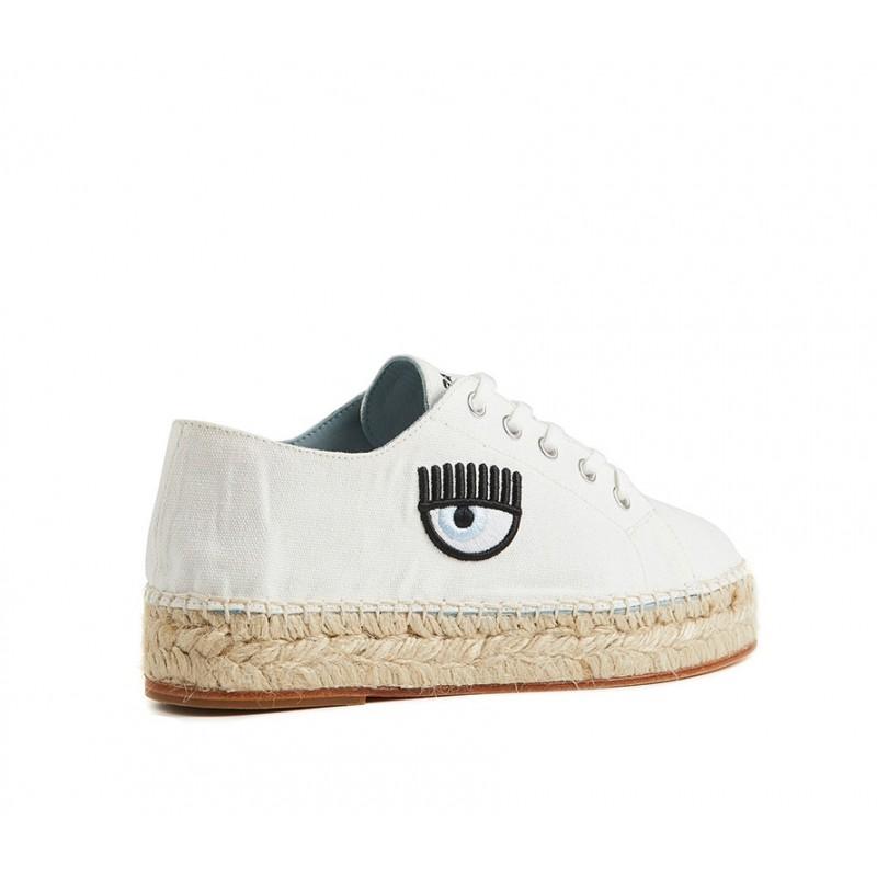chiara ferragni promotions sneakers cf espa 1CF ESPA 1 - TOILE - BLANC