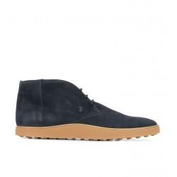tod's boots et bottillons peter 5PETER 5 - NUBUCK - MARINE
