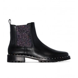 sophia webster promotions bottines web boot bessieWEB BOOT BESSIE - CUIR - NOIR ET