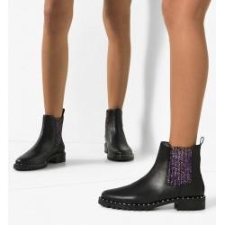 sophia webster promotions bottines web boot bessieWEB BOOT BESSIE - CUIR - NOIR ET
