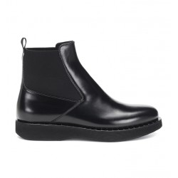 church's bottines cassie metCASSIE MET - CUIR - NOIR ET DÉTA