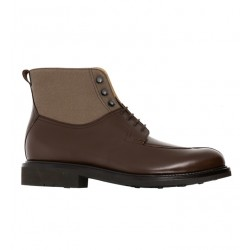 heschung promotions boots et bottillons ginkgo 2GINKGO 2 - CUIR ET TOILE - MORO