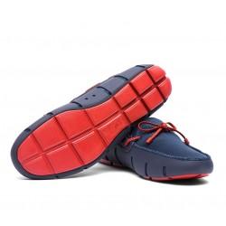 swims nouveautés chaussures bateau swims loafer noeudSWIMS LOAFER NOEUD - CAOUTCHOUC