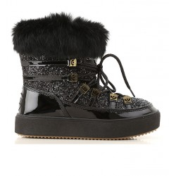chiara ferragni bottines cf snow bootsCF SNOW BOOTS - CUIR, TOILE ET F