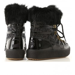 chiara ferragni promotions bottines cf snow bootsCF SNOW BOOTS - CUIR, TOILE ET F