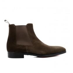 santoni promotions boots et bottillons milliard bootsMILLIARD BOOTS - NUBUCK - MARRON