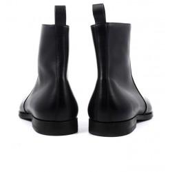 santoni promotions boots et bottillons marbo lisseMARBO LISSE - CUIR SOUPLE - NOIR