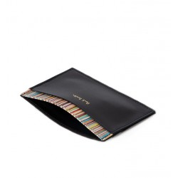 paul smith promotions porte-cartes ps porte-cartesPS PORTE-CARTES - CUIR - NOIR ET