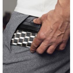 pierre hardy promotions porte-cartes pha porte-cartesPHA PORTE-CARTES - CUIR ET TOILE