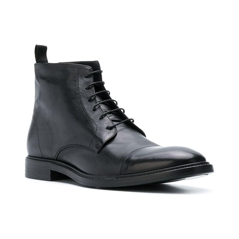 paul smith promotions boots et bottillons ps bott jarmanPS BOTT JARMAN - CUIR SOUPLE - N