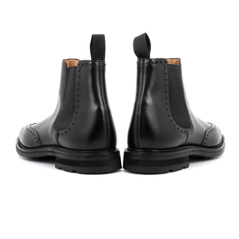 church's promotions boots et bottillons coldburryCOLDBURRY - CUIR - NOIR