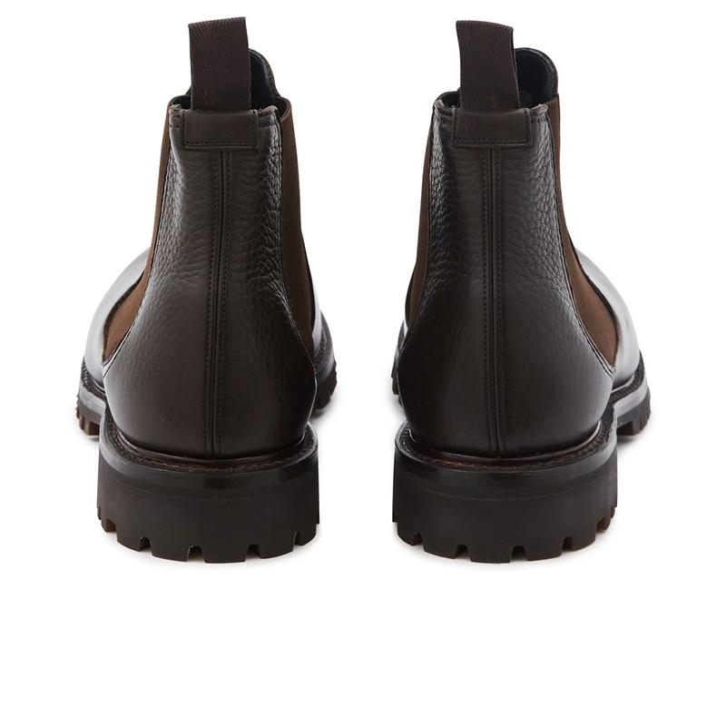 church's promotions boots et bottillons cornwoodCORNWOOD - CUIR GRAINÉ - MARRON