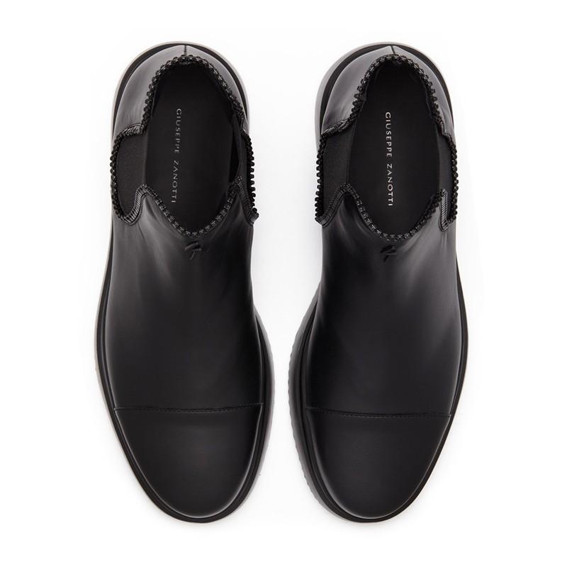 giuseppe zanotti promotions boots et bottillons gz h boots dustinGZ H BOOTS DUSTIN - CUIR - NOIR
