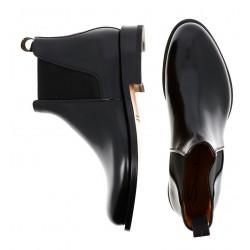 santoni promotions boots et bottillons califCALIF - CUIR - NOIR