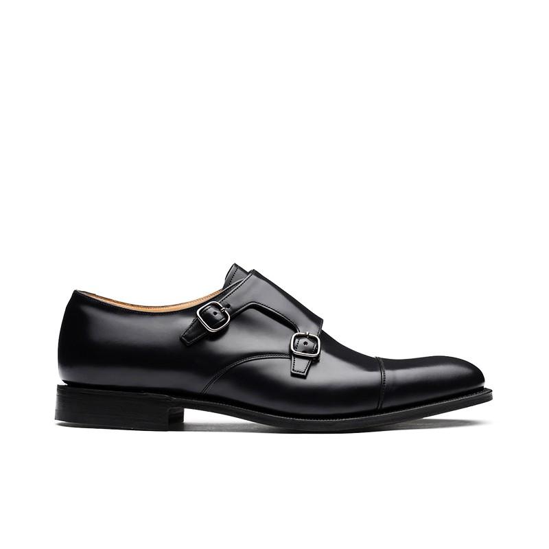 church's chaussures à boucles detroitDETROIT - CUIR POLISH BINDER - N