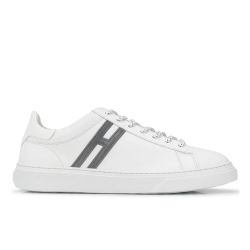 hogan sneakers Sneakers H365HH H365 - CUIR - BLANC ET LOGO G