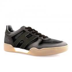 hogan sneakers Sneakers H357HH H357 - NUBUCK ET TOILE DÉLAVÉ