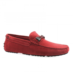 tod's mocassins et slippers Mocassins Gommino Tod's for FerrariGOMMINI FERRARI 2 - NUBUCK - ROU